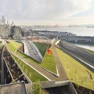 奥林匹克雕塑公园旅游景点攻略图