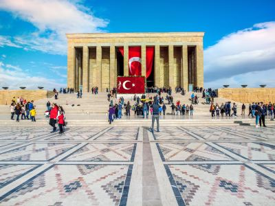 Mausoleum for former Turkish leader