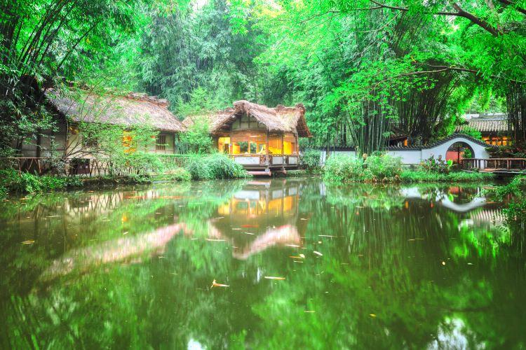 Du Fu's Thatched Cottage