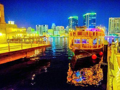 Dubai Creek Night Cruise