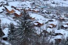 一场大雪覆盖了整个村庄,这就是瑞士的冰雪世界