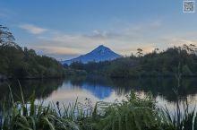 新西兰的富士山