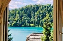Lake Bled,天然泳池!