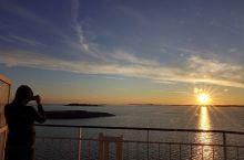 波罗的海拍夕阳