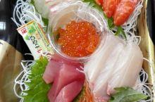 日本的生鱼片新鲜的不得了