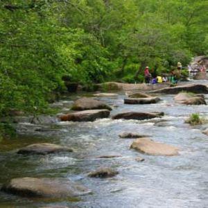 三道关国家森林公园旅游景点攻略图