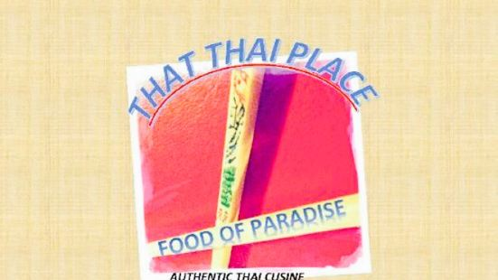 That Thai Place
