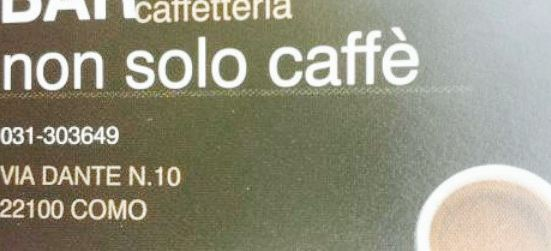 Bar non solo caffe