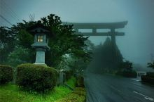 雾岛神社 真心没什么特色 比格不够雾气来撑