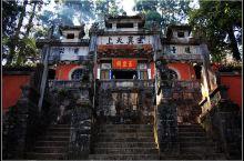 云南通海的秀山,有匾联碑林近200多块,朱德元帅曾留下墨宝