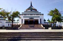 #南航西游记#游览乌兰浩特成吉思汗庙