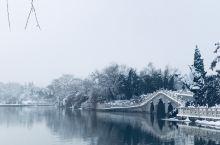 走,到龙湖公园赏雪去