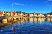瑞士卢塞恩的晴天和阴天,同样令人沉醉