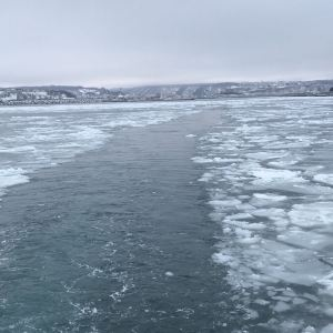 网走流冰观光破冰船极光号旅游景点攻略图