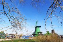 荷兰的风车