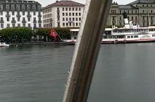 瑞士琉森湖与耶稣基督圣像