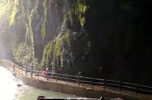 通灵大峡谷湿身体验
