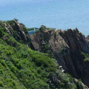 老铁山黄渤海分界线旅游景点攻略图