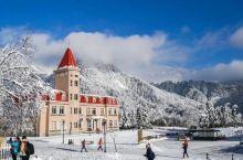 成都花水湾温泉小镇北欧风格的精品度假屋,滑雪泡温泉感受冰火两重天丨欢墅