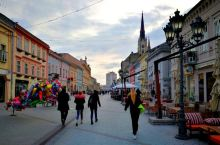 塞尔维亚——诺维萨德的街景