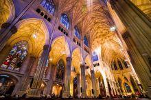 纽约闹市里隐藏着一座全美最大的哥特式教堂
