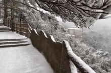 2018冬季的第一场雪——美丽黄山