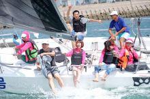 给你的周末加点颜色,青岛奥帆中心出海体验乘帆船冲海浪的乐趣