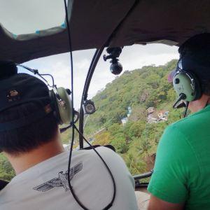 直升机环岛游旅游景点攻略图