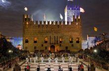 哈利波特的巫师象棋并非凭空想象,意大利早就有真人象棋了!