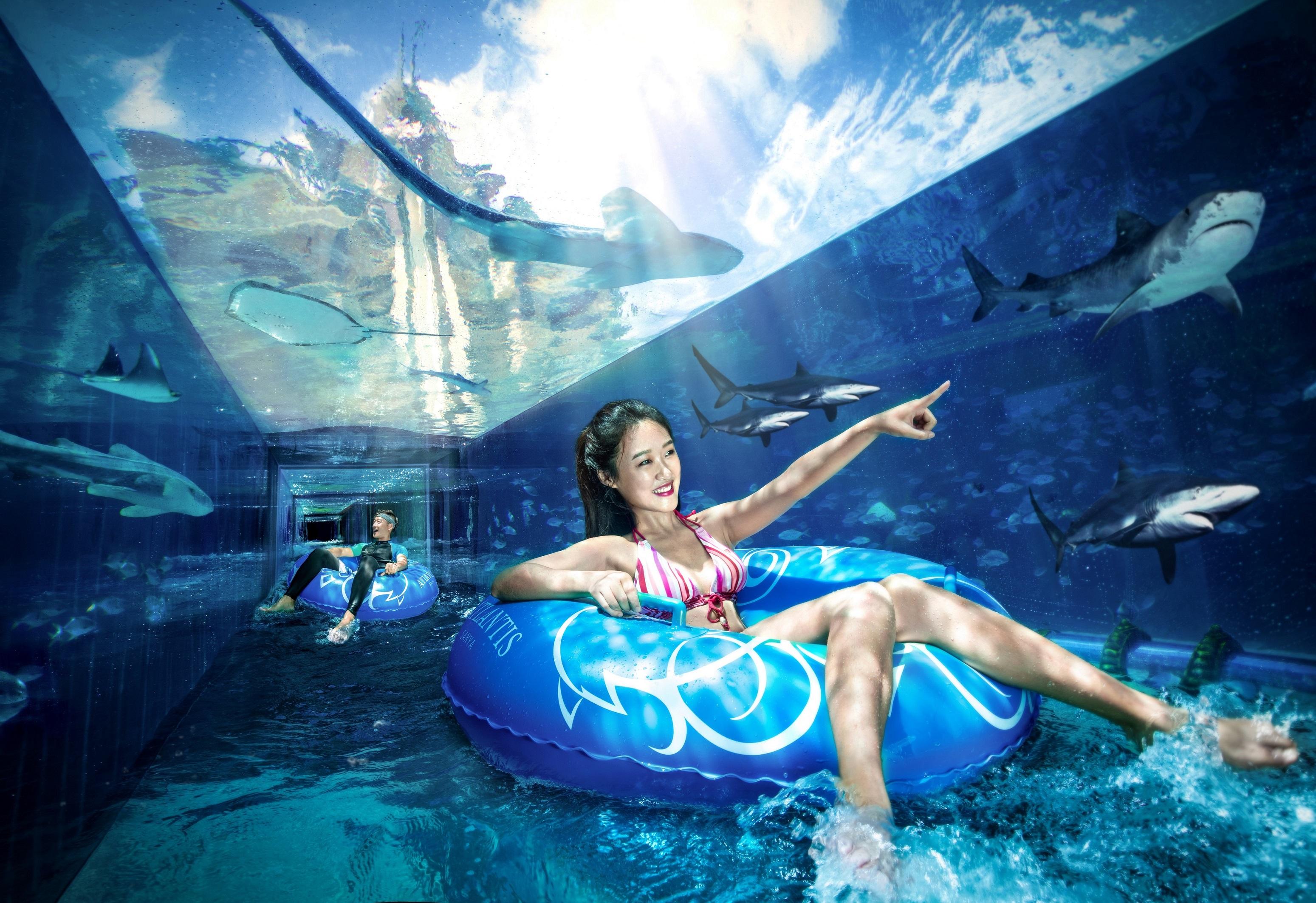 三亚亚特兰蒂斯水世界旅游景点图片