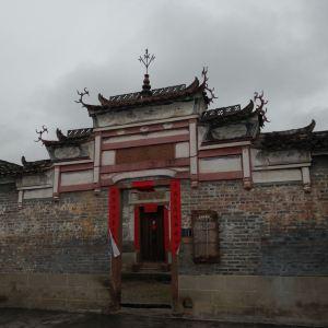 渼陂古村旅游景点攻略图