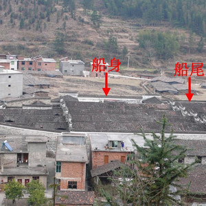 """黎川游记图文-一个山野小村,隐藏着一个与""""洪门""""有关的""""船型古屋"""""""