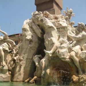 四河喷泉旅游景点攻略图
