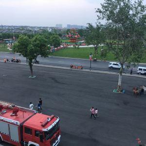 滹沱河观景休闲广场旅游景点攻略图