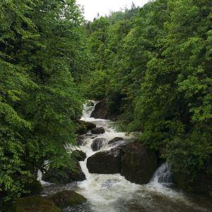 龙苍沟叠翠溪景区旅游景点攻略图