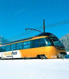 [圣莫里茨游记图片] 那么多景观列车,到底选哪条?(瑞士系列15)