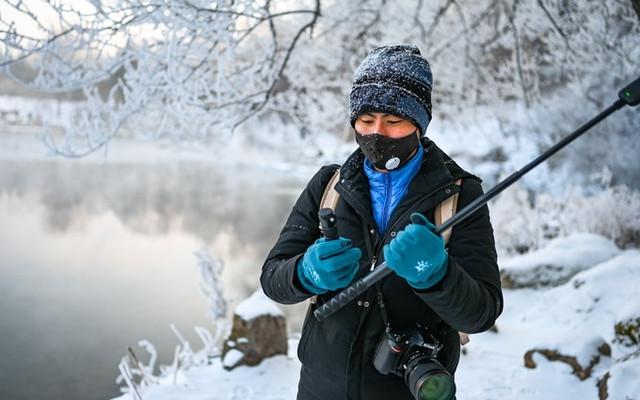 冬记|打卡本溪水洞,梦幻古琴雾凇