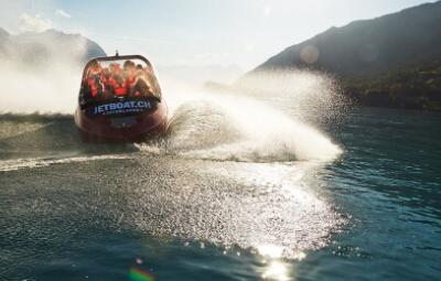 Brienz Lake Jet Boat