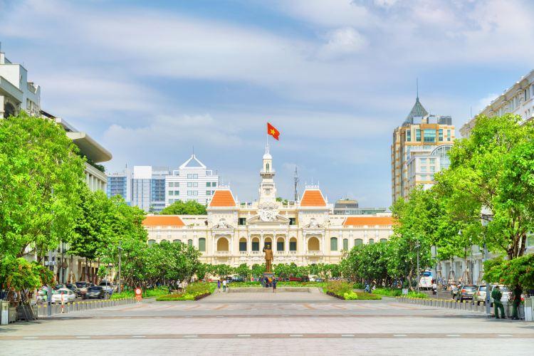 Ho Chi Minh Squares