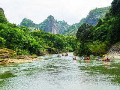 Wuyi Mountain Nine-bend Stream
