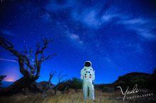 夏威夷大岛的星空银河