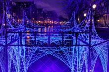 🇳🇱奇特炫酷的阿姆斯特丹灯光节-运河是创意的载体