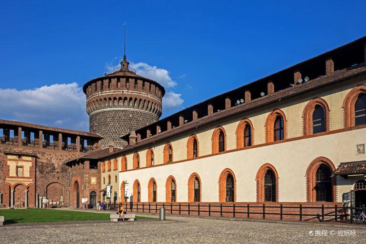 斯福爾扎城堡4