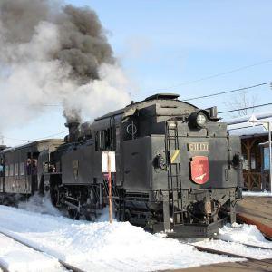 SL冬之湿原号蒸汽火车旅游景点攻略图