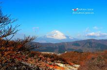 登大涌谷,眺望富士山