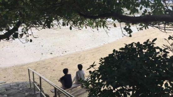 浜邊の茶屋