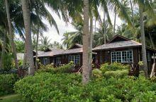 一半天堂,一半人间 度假村花园别墅 度假村私人海滩 度假村豪华水屋 水屋栈道 种满了各种花草 我们的