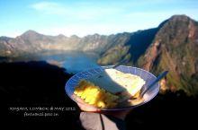 林加尼火山上珍贵的DIY美食
