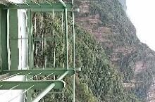 龙湾潭的玻璃观景台