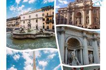 水菱环球之旅の古罗马许愿池-特莱维喷泉